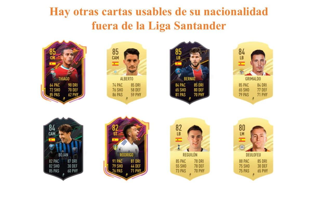 Portu RTTF links naranjas FIFA 21 Ultimate Team