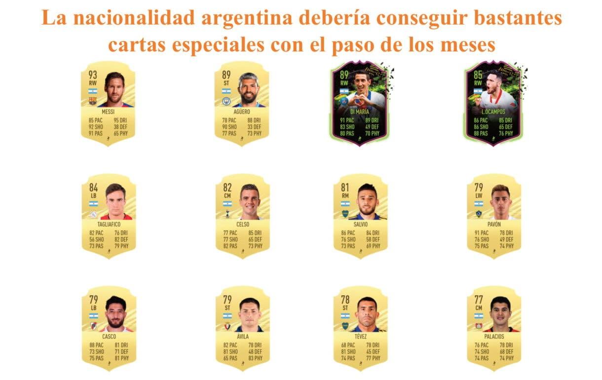 RTTF Links Pulsera Naranja FIFA 21 Ultimate Team