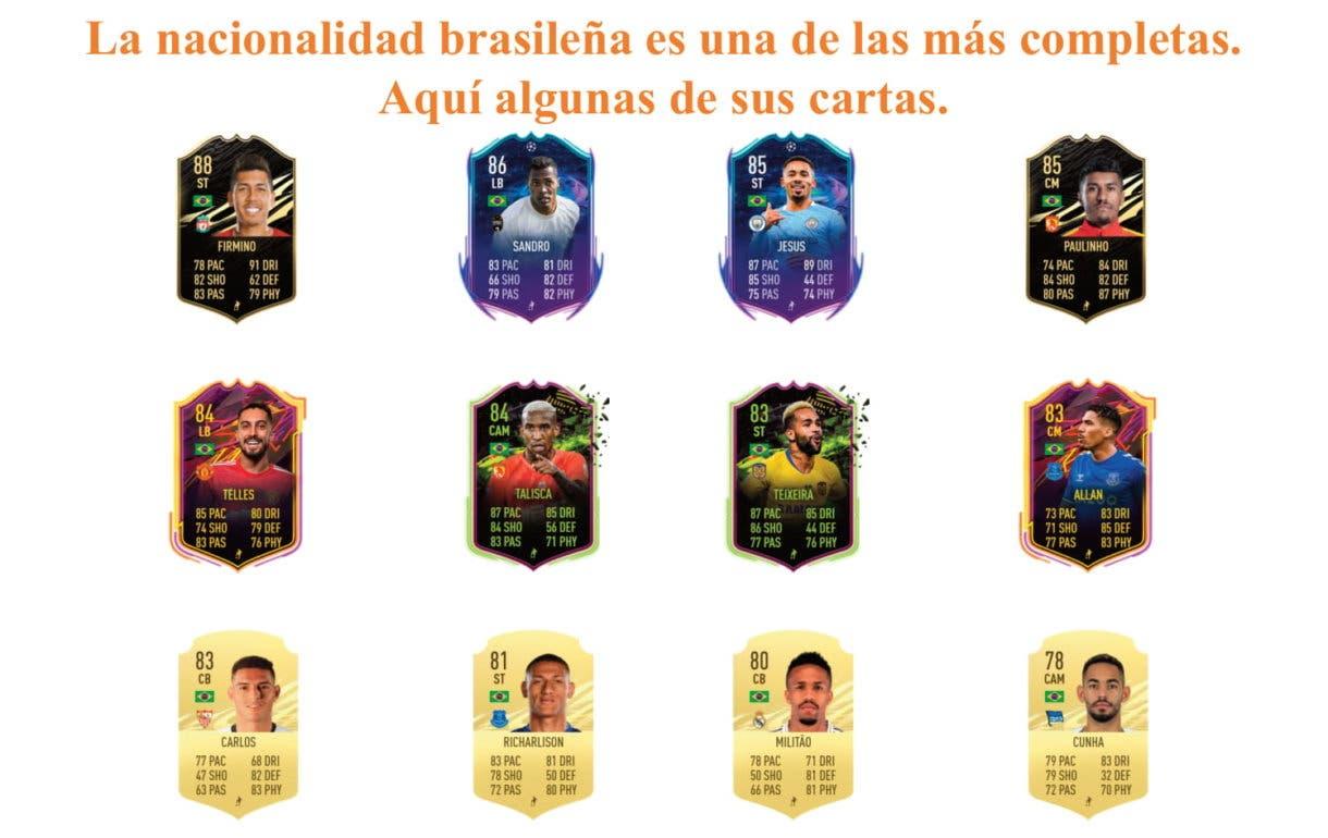 Felipe Anderson RTTF links naranjas FIFA 21 Ultimate Team