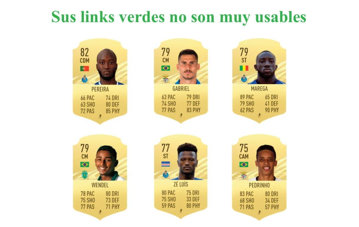 Felipe Anderson RTTF links verdes FIFA 21 Ultimate Team