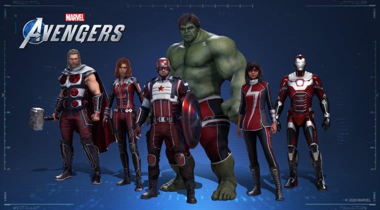 Imagen de Marvel's Avengers abarata el precio de sus objetos cosméticos de forma indefinida
