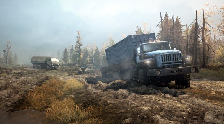 Imagen de Descarga ya MudRunner gratis en Epic Games Store; descubre el juego gratuito de la próxima semana