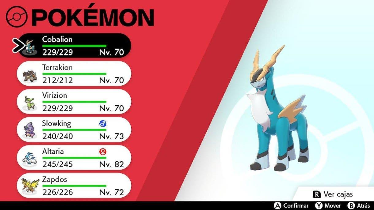 Pokémon Espada y Escudo Guia Keldeo