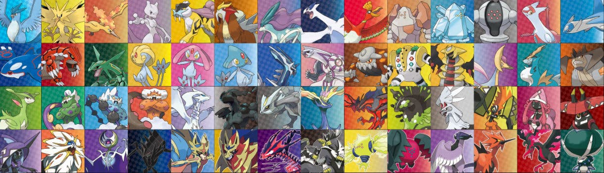 Pokemon Espada y Escudo Legendarios