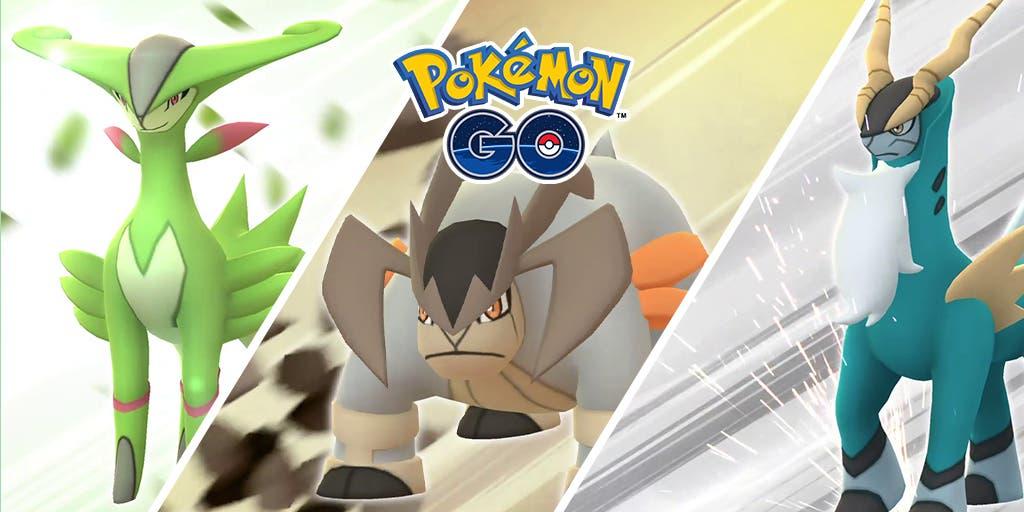 Pokemon GO Cobalion Terrakion Virizion