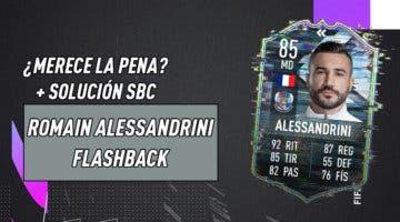Imagen de FIFA 21: ¿Merece la pena Romain Alessandrini Flashback? + Solución de su SBC