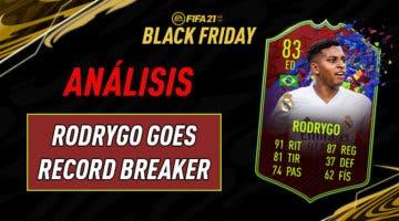 Imagen de FIFA 21: análisis de Rodrygo Record Breaker, la carta gratuita de esta semana