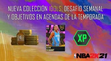 Imagen de NBA 2K21 MyTeam: nueva colección Idols (Season 3), desafío semanal y objetivos en Agendas de la Temporada