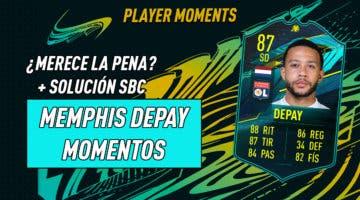 Imagen de FIFA 21: ¿Merece la pena Memphis Depay Moments? + Solución de su SBC