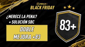"""Imagen de FIFA 21: solución del SBC """"Doble mejora +83"""" (29-11-2020)"""