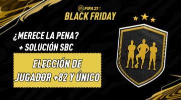 """Imagen de FIFA 21: solución de los SBC's """"Elección de jugador +82 y único"""""""