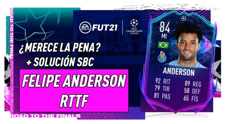 Imagen de FIFA 21: ¿Merece la pena Felipe Anderson RTTF? + Solución de su SBC