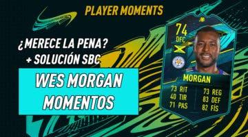 """Imagen de FIFA 21: """"¿Merece la pena?"""" exprés de Wes Morgan Moments + Solución de su SBC"""
