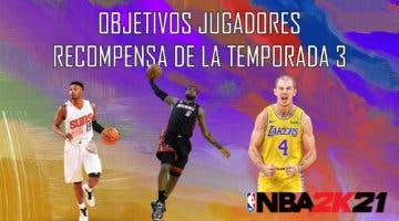 Imagen de NBA 2K21 MyTeam: estos son los objetivos de los jugadores recompensa de la Temporada 3