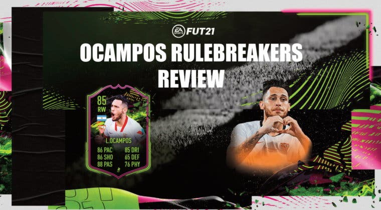Imagen de FIFA 21: review de Lucas Ocampos Rulebreakers