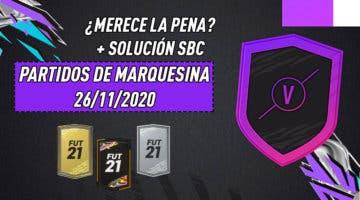 """Imagen de FIFA 21: ¿Merece la pena el SBC """"Partidos de marquesina""""? (26/11/2020)"""