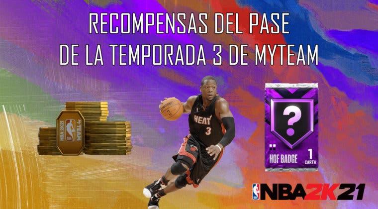 Imagen de NBA 2K21 MyTeam: estas son las recompensas del Pase de Temporada 3
