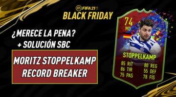 "Imagen de FIFA 21: ""¿Merece la pena?"" exprés de Moritz Stoppelkamp Record Breaker + Solución de su SBC"