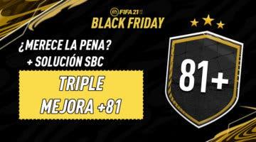 """Imagen de FIFA 21: solución del SBC """"Triple mejora +81"""" (29-11-2020)"""