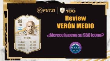 Imagen de FIFA 21: review de Verón Icono Medio ¿Merece la pena hacer su SBC?