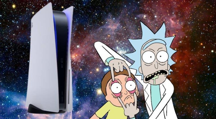 Imagen de Rick y Morty promocionan PS5 con este divertido anuncio