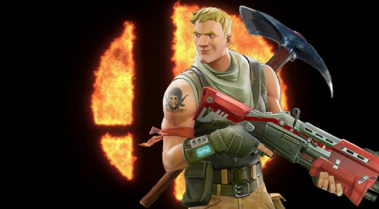 Imagen de Super Smash Bros. Ultimate: su próximo luchador DLC podría ser de Fortnite, según filtración