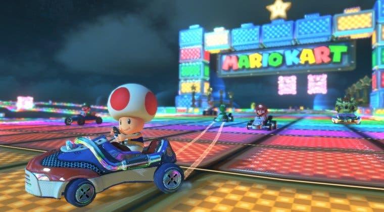 Imagen de Un fan da vida a la Senda Arcoiris en la vida real con Mario Kart Live: Home Circuit