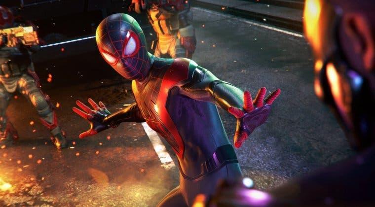 Imagen de El bug más extraño de Spider-man: Miles Morales que transforma a los personajes en objetos