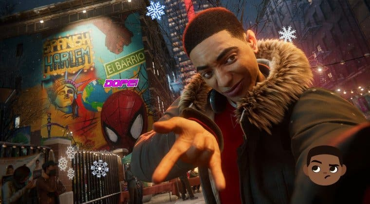 Imagen de Spider-Man: Miles Morales incluye este homenaje a Chadwick Boseman (Black Panther)