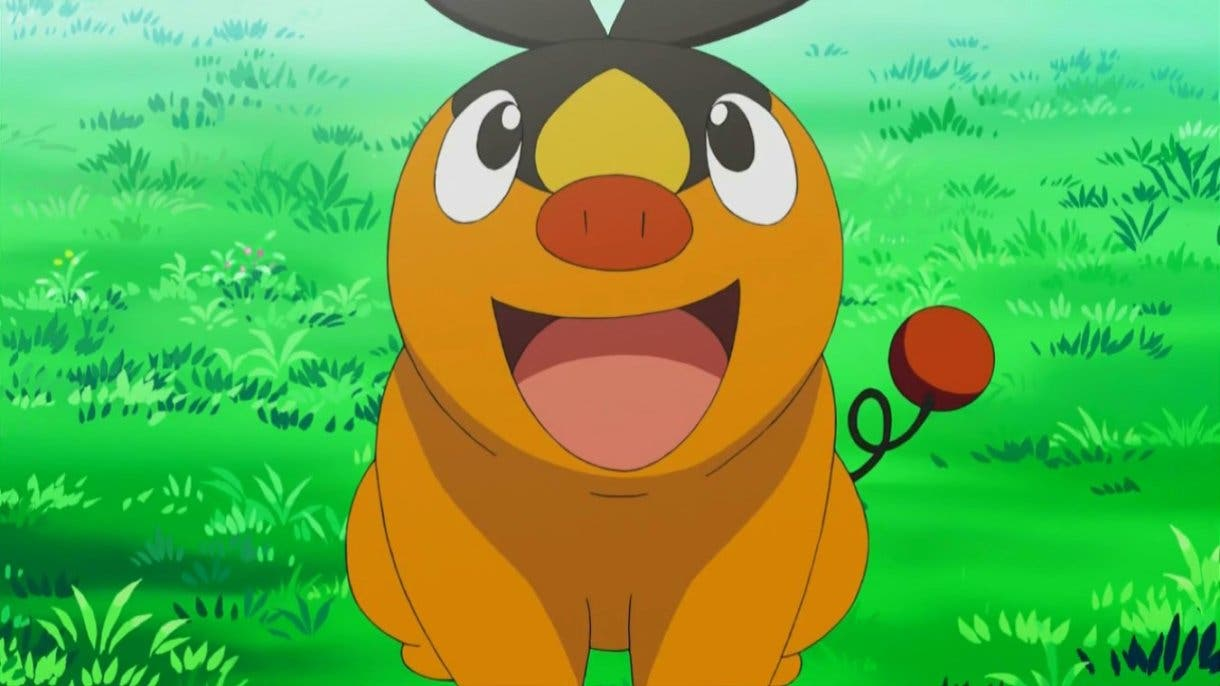 Tepig Pokemon inicial