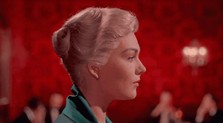 Imagen de Vértigo, la película total del maestro Alfred Hitchcock