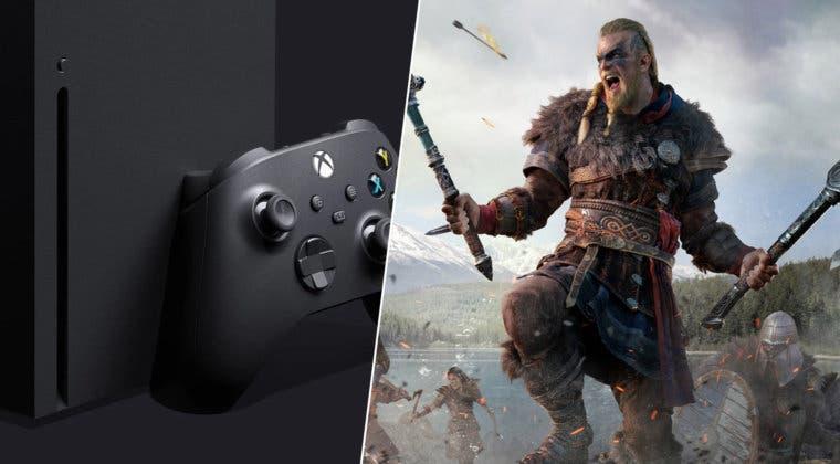 Imagen de Filtrado el primer bundle de Xbox Series X con un juego: Assassin's Creed Valhalla