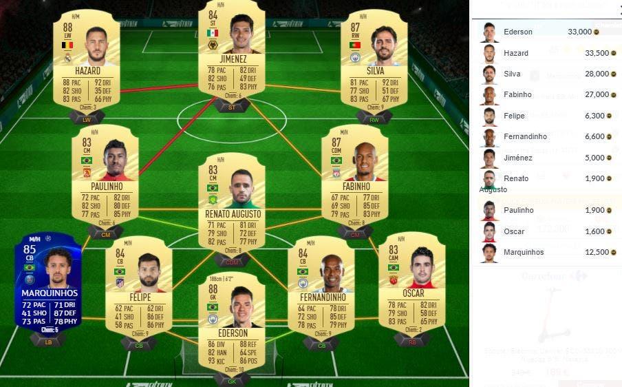 FIFA 21 Ultimate Team Marquinhos Freeze