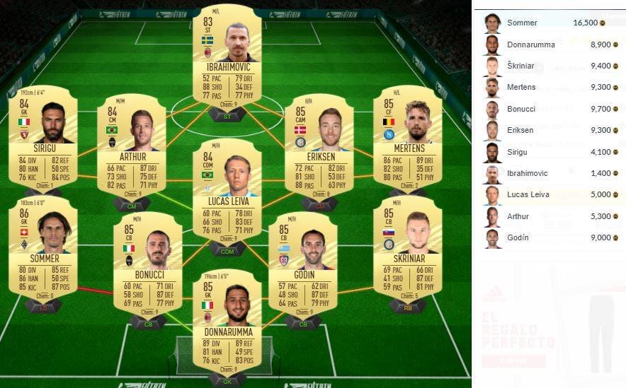 FIFA 21 Ultimate Team Bailey Freeze