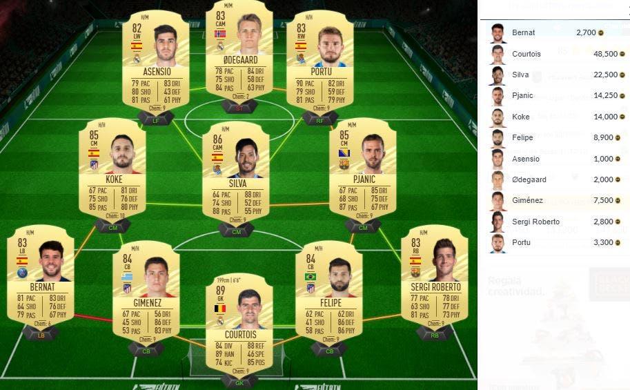 FIFA 21 Ultimate Team SBC Aouar Freeze
