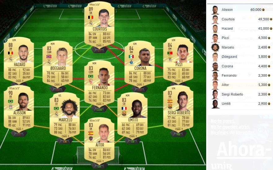 FIFA 21 Ultimate Team SBC Traoré Freeze