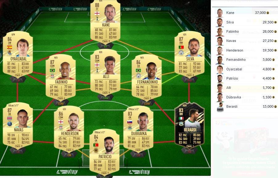 FIFA 21 Ultimate Team SBC Luis Hernández Icono Baby