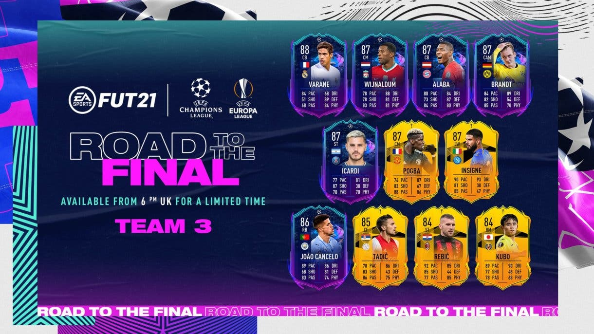 FIFA 21 Ultimate Team Road to the Final RTTF