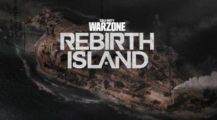 Imagen de Call of Duty: Warzone el mapa de Rebirth Island junto a todas sus ubicaciones, tiendas y más