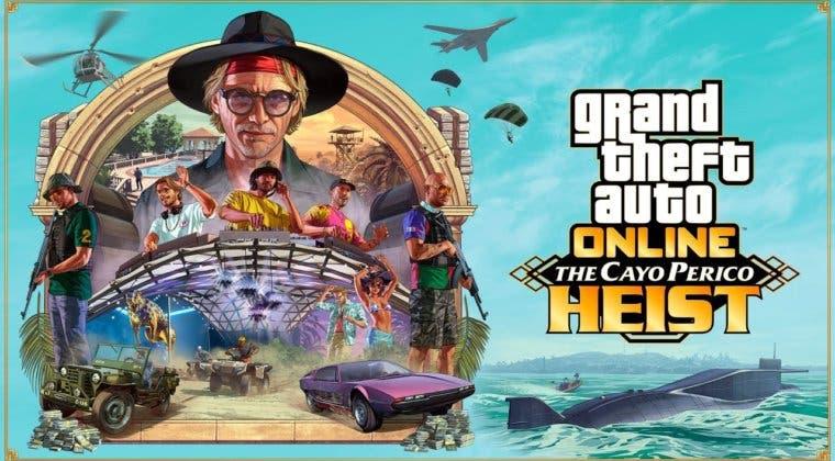 Imagen de 20 nuevos vehículos, 3 armas, submarino y más; así sería Golpe a Cayo Perico, la expansión de GTA Online