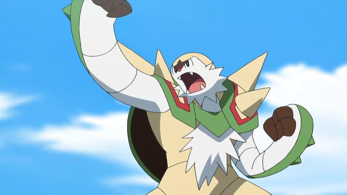 Chesnaught Pokemon inicial