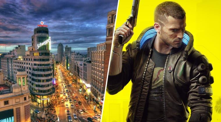 Imagen de Imaginan las ciudades de España como parte de Cyberpunk 2077 con este increíble resultado