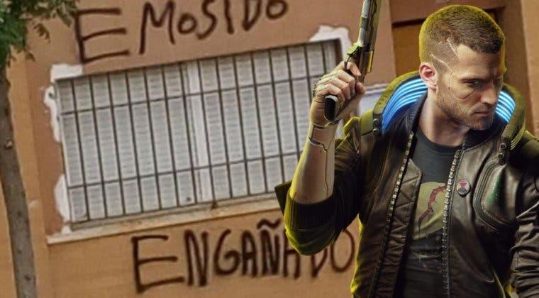 """Imagen de """"Emosido engañado""""; el meme español que se cuela Cyberpunk 2077"""
