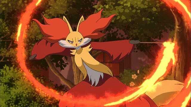 Delphox Pokemon inicial