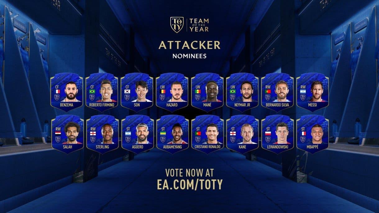 FIFA 21 Ultimate Team qué podemos esperar de FUTMAS nominados al TOTY