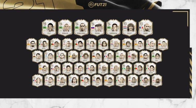 Imagen de FIFA 21: la mitad de los Iconos Prime ya están disponibles en Ultimate Team