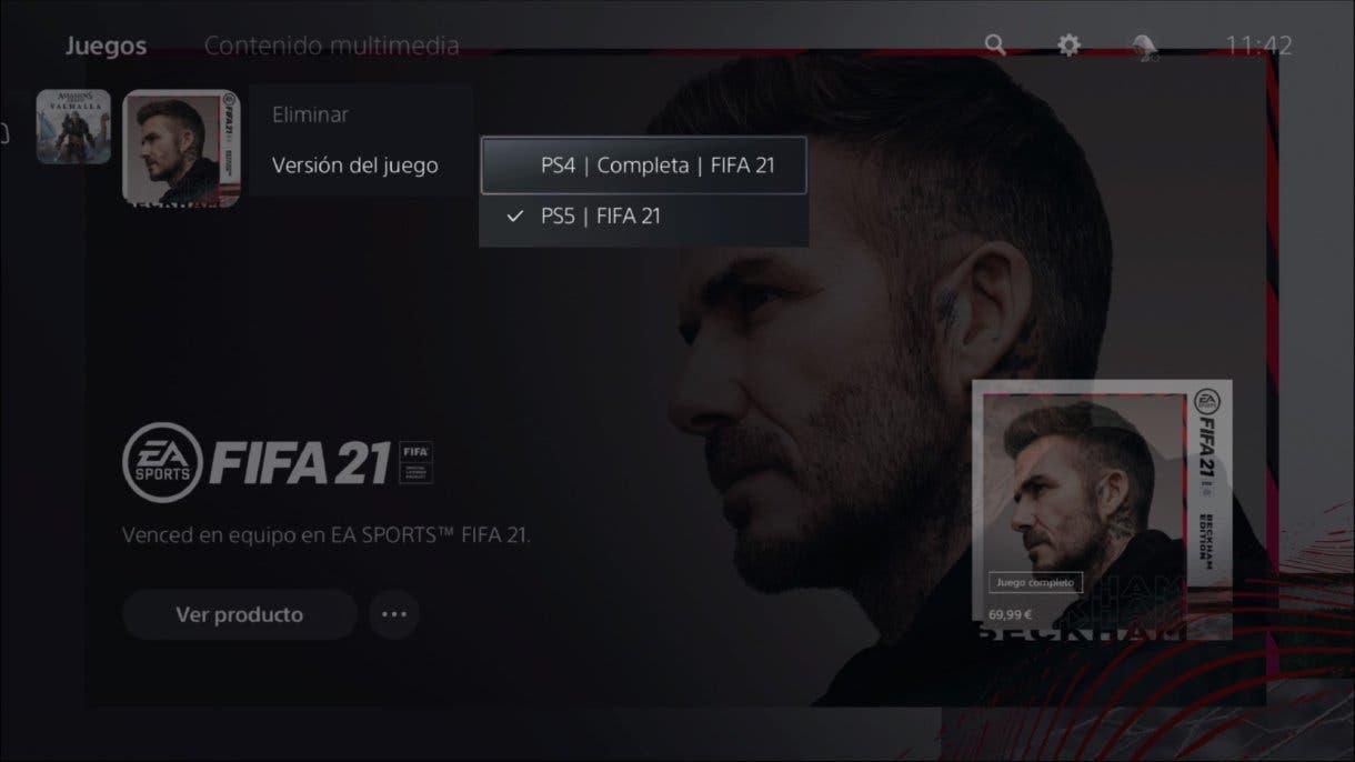 FIFA 21 muchos usuarios de PS5 aún no pueden jugar a la edición de nueva generación (next-gen)