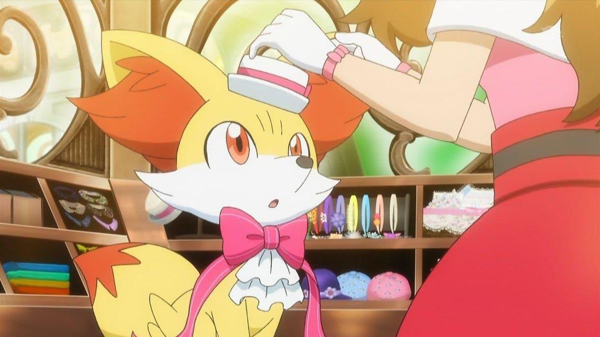 Fennekin Pokemon inicial