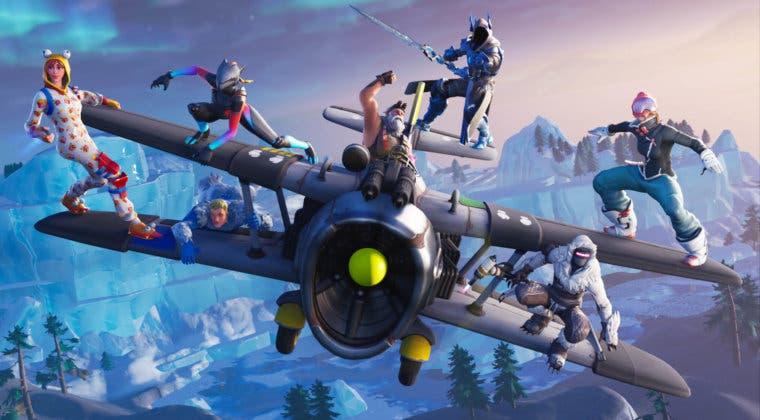 Imagen de Así sería el mapa de Fortnite durante el nuevo evento de Navidad 2020
