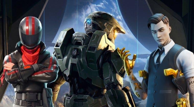 Imagen de Fortnite filtra una colaboración con Halo con una skin del Jefe Maestro, nuevos modos de juego y más